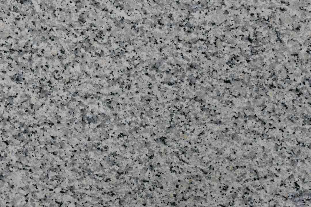 Granite quel type de roche